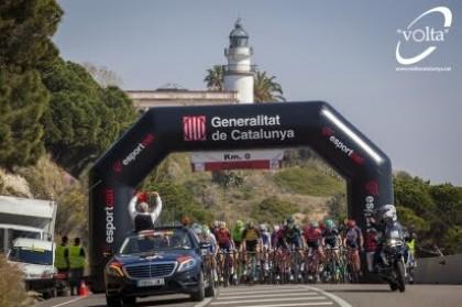 La XCVIII edición de la Volta a Catalunya comienza hoy en Calella