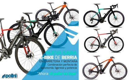 Lanzamiento de la nueva gama e-bike 2020-21 de Berria Bike con motores Polini