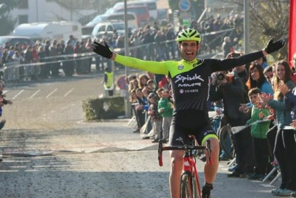 Larri gana en su despedida del ciclocross vasco