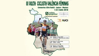 Las mejores ciclistas se citan en la Volta Ciclista Valencia Féminas