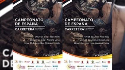 Listados oficiales de participantes y dorsales en las CRI del Campeonato de España