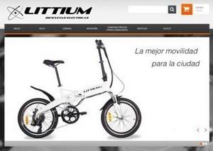 Littium Ibiza la bicicleta plegable y eléctrica para tu ciudad