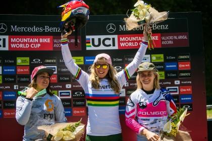 Loïc Bruni y Rachel Atherton, ganadores de la prueba de descenso en Vallnord – Pal Arinsal