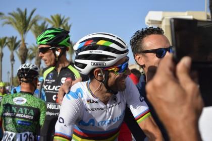 """""""Los líderes son ellos"""" asegura Alejandro Valverde sobre Landa y Quintana antes del Tour"""