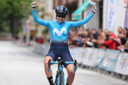 Lourdes Oyarbide exhibición y triunfo en la Vuelta a Burgos