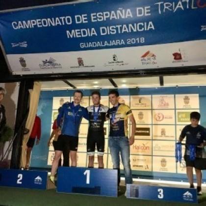 Luis Miguel del Rosal campeón de España MD en categoría 20-24
