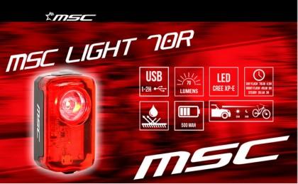 Luz diurna Light 70R de MSC