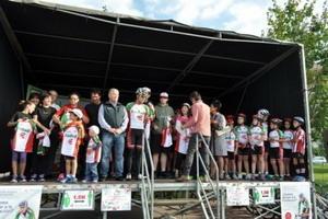 Más de 2.000 participantes en la XI Fiesta de la Bici