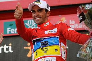 Purito Rodriguez se hunde y Contador se viste de rojo en La Vuelta