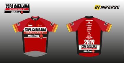 Maillots de líder para la Copa Catalana Internacional Biking Point y la Super Cup Massi