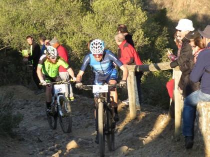 Manuel Triki Beltrán pleno de participaciones en la Andalucía Bike Race