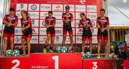 Mario Mola y Anna Godoy campeones del ProTour FETRI Pontevedra