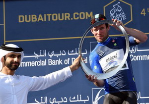 Mark Cavendish gana el Dubai Tour