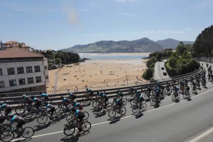 Más de 1.700 cicloturistas disfrutaron en la IV Gran Fondo BIBE Transbizkaia