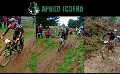 Más de 150 bikers acuden a la llamada de Apuko Igoera