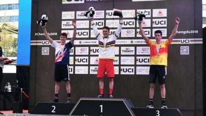 Más medallas para la selección en el Mundial de ciclismo urbano