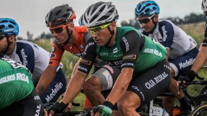Matteo Malucelli cerca del triunfo de etapa en la Vuelta a San Juan