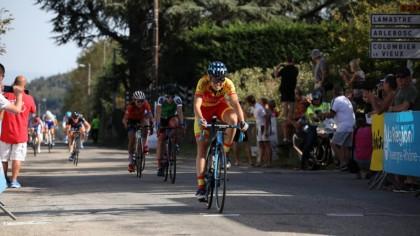 Mavi García finaliza cuarta en la quinta etapa del Tour de Ardeche
