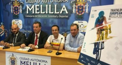 Melilla, preparada para la Copa de Europa de Triatlón