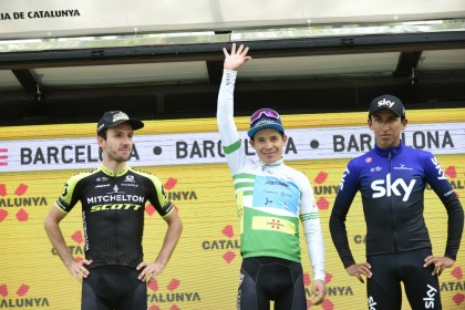 Miguel Ángel López consigue el triunfo final en la Volta 2019