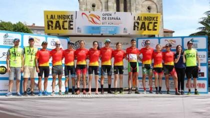 Miguel Muñoz y Lara Lois son los ganadores del Open de España de MTB Maratón