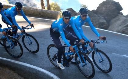 Mikel Landa debutará con el Movistar Team en la Vuelta a Andalucía