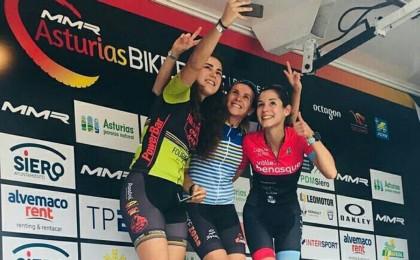 Mónica Carrascosa campeona de la Asturias Bike Race