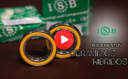 Montaje de rodamientos cerámicos híbridos ISB con José Antonio Díez Arriola