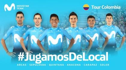 Movistar Team en la Vuelta a Colombia con las pilas cargadas tras triunfar en San Juan