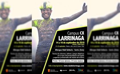 Nace el Campus CX Larrinaga para perfeccionar tu técnica de ciclocross