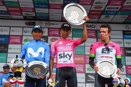Nairo Quintana finaliza segundo la Oro y Paz