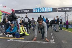 Gran victoria de Eneko Llanos en el Ironman de Melbourne