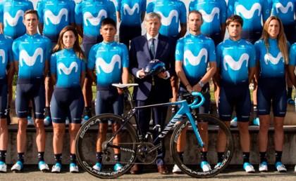 Nueva equipación Movistar Team disponible en retto.com