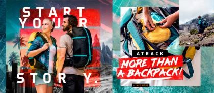 Nueva mochila Atrack de Ortlieb para los amantes de los viajes