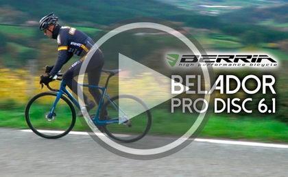 Nuevo testmanía, probamos la Berria Belador Pro Disc 6.1