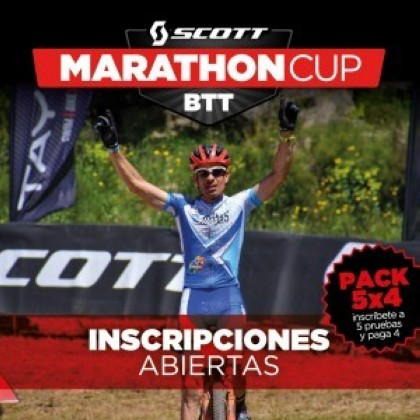 Ocisport ofrece un pack especial y limitado 5x4 para la Scott Marathon Cup 2019