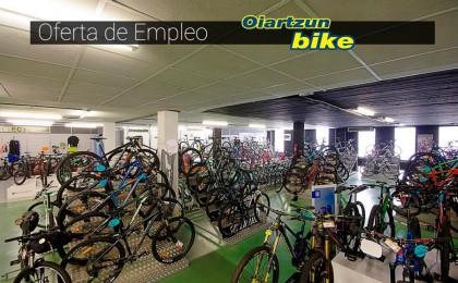 Oiartzun Bike oferta varios empleos para su gran tienda de bicicletas