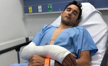 Óscar Sevilla ingresado en el hospital tras ser atracado en Bogóta