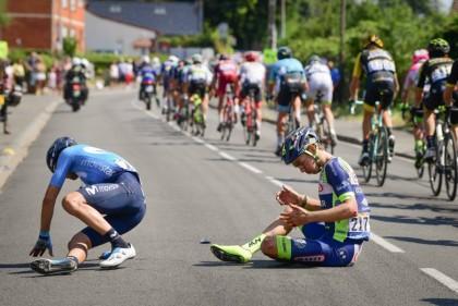 Parte de bajas Tour de Francia tras la primera semana