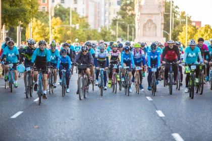 Pedro Delgado y Pablo Lastras estarán en la salida de la Fiesta de la Bici Movistar
