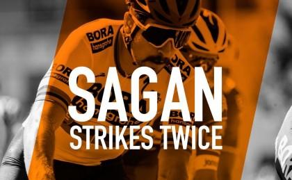 Peter Sagan gana en Australia por delante de Luis León Sánchez