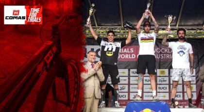 Podio para el Team bici ISB-COMAS en la UCI Trials World Cup
