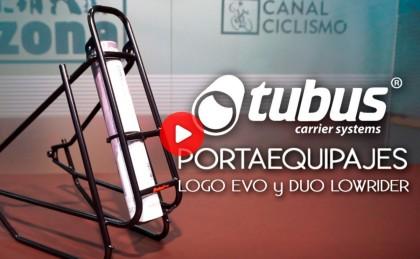 Portequipajes TUBUS, ligero y con construcción 3D