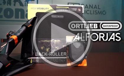 Presentación bolsas y alforjas ORTLIEB resistentes al agua