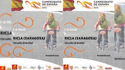 Presentación del Campeonato de España de BMX Ricla-Valdejalón