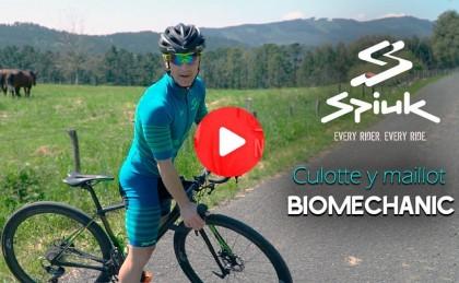 Presentación: Mejora tu rendimiento con el culotte y maillot SPIUK Biomechanic