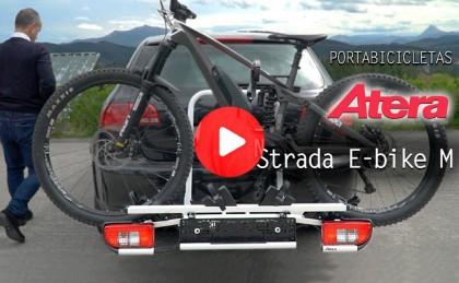 Presentación: Portabicletas para bola de remolque ATERA Strada E-bike ML