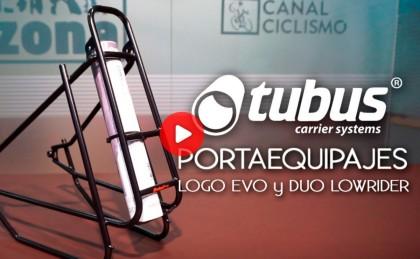 Presentación portequipajes TUBUS, ligero y con construcción 3D