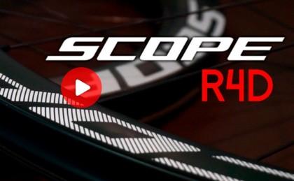 Presentación ruedas Scope R4 para frenos de disco