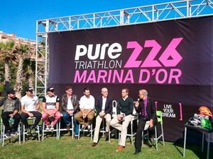 Presentada la primera edición del Pure Triatlón 226 Marina D Or